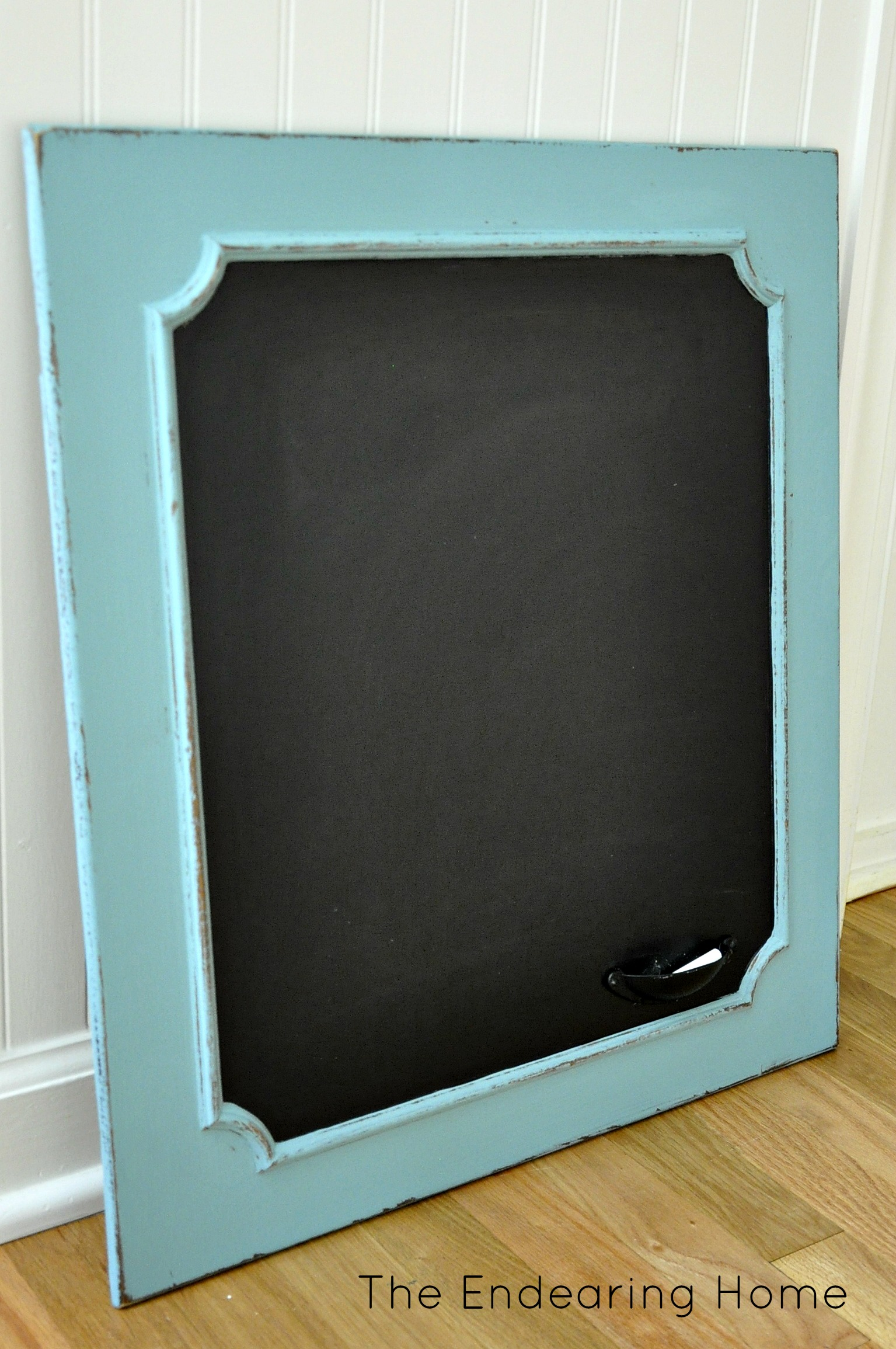 To ... - Turn An Old Wood Cabinet Door Into A Chalkboard