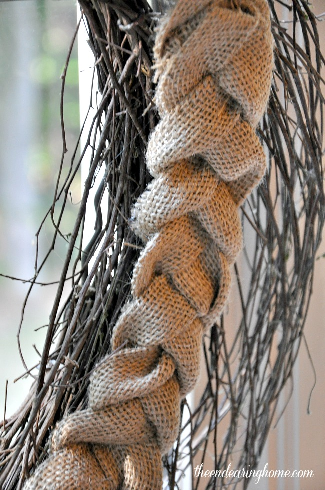 Braided Burlap - The Endearing Home