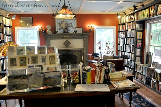 Books and Beans in Little Switzerland, NC