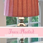 Faux Pleated Lamp Shade Makevoer