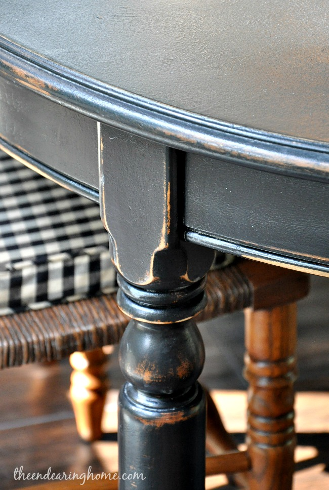 Reclaim Painted Table - The Endearing Home