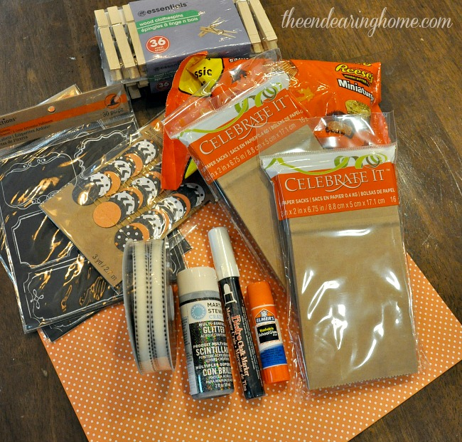 Halloween Countdown Candy Calendar - The Endearing Home