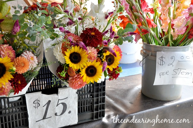 Farmers Market - The Endearing Home