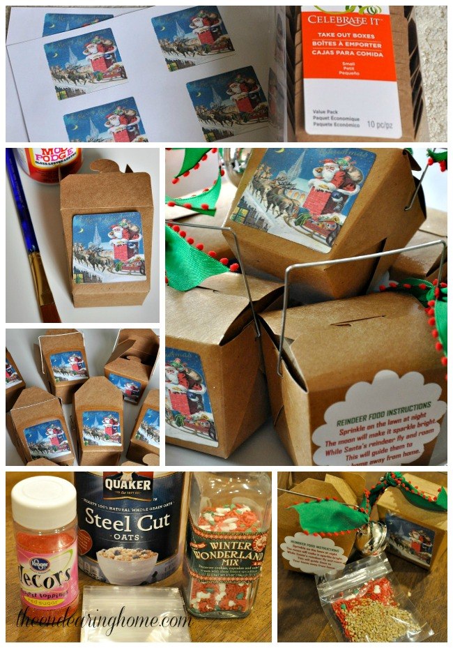 Reindeer Food Craft
