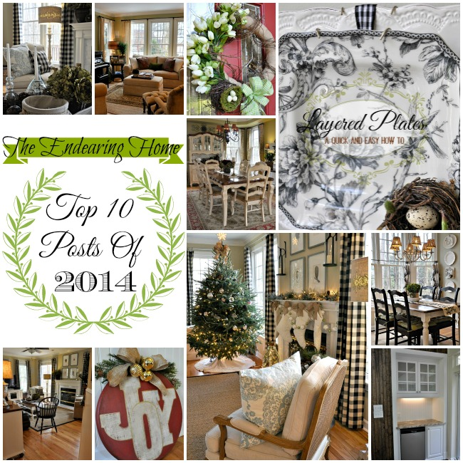 Top Ten Posts of 2014 - The Endearing Home