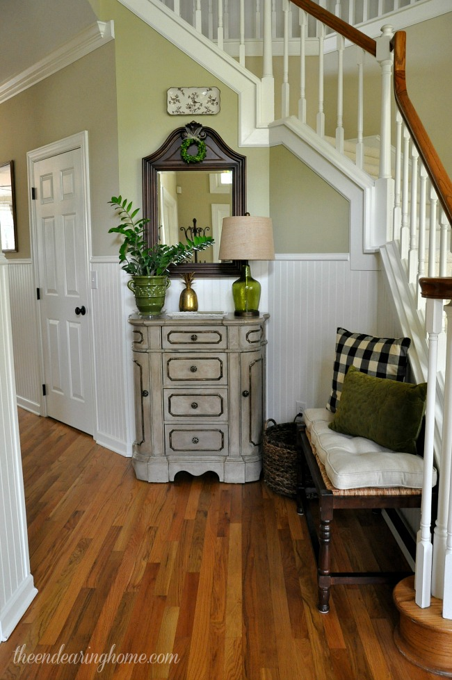 Foyer Updates - The Endearing Home