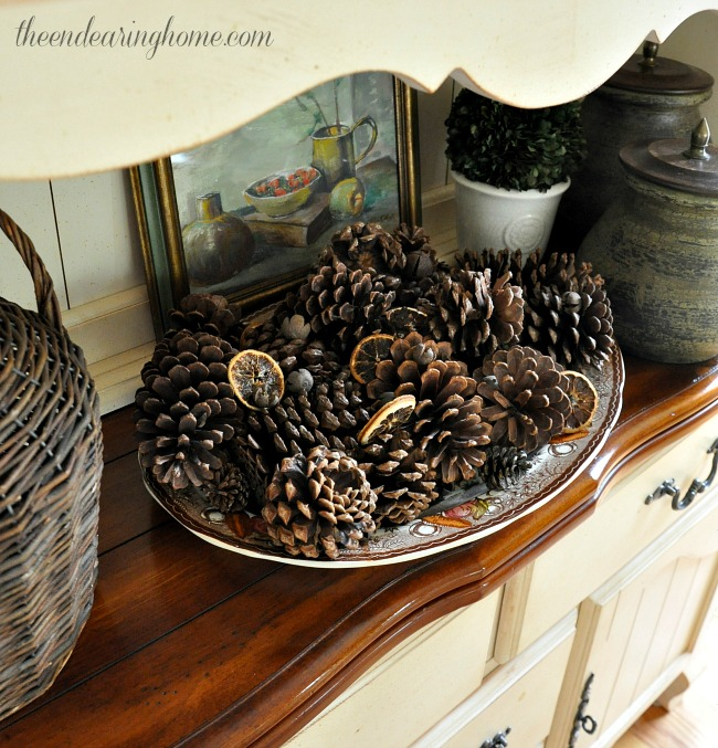 Turkey Platter Decorating - The Endearing Home