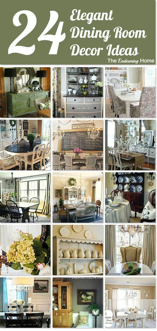 Hometalk Elegant Dining Room Decor Ideas