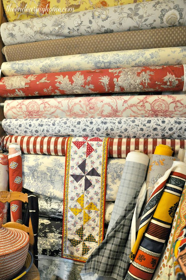 French fabrics and linens