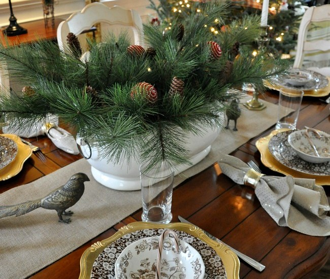 Holiday Home Tour 2015 – Dining Room