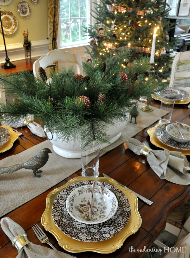 Holiday Home Tour 2015 - Dining Room