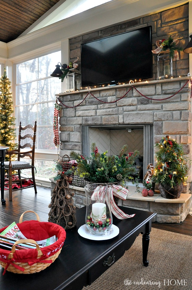 Holiday Home Tour 2015 - The Back Porch