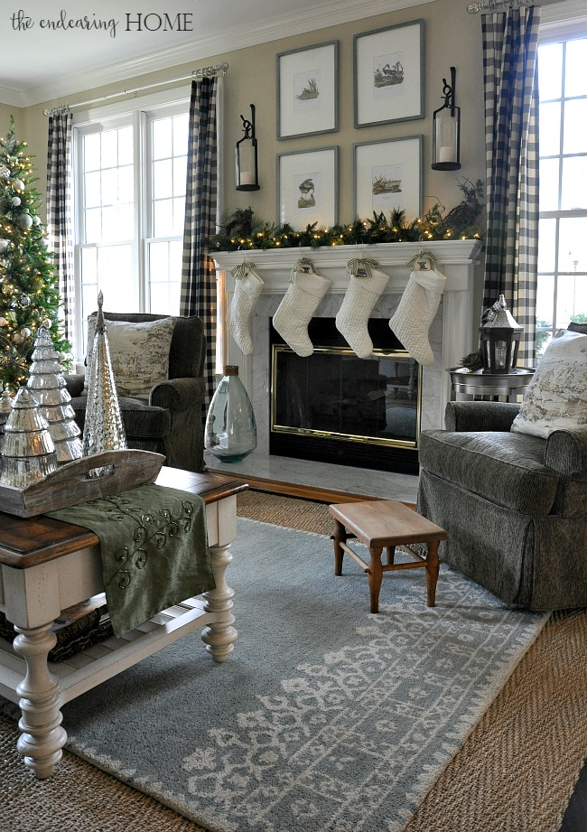 Top Ten Posts of 2015 - Christmas in the Family Room