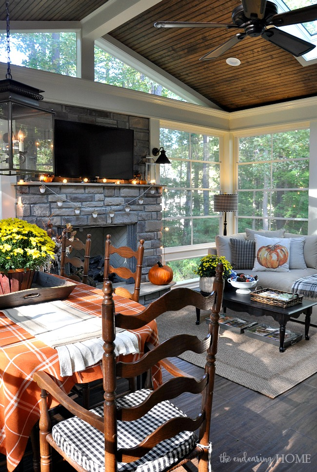 Top Ten Posts of 2015 - Fall Porch Tour