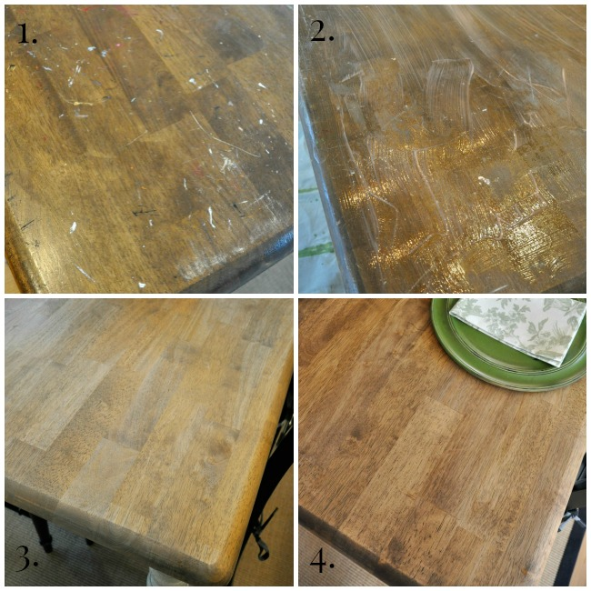 Farmhouse Kitchen Table Makeover - The Endearing Home