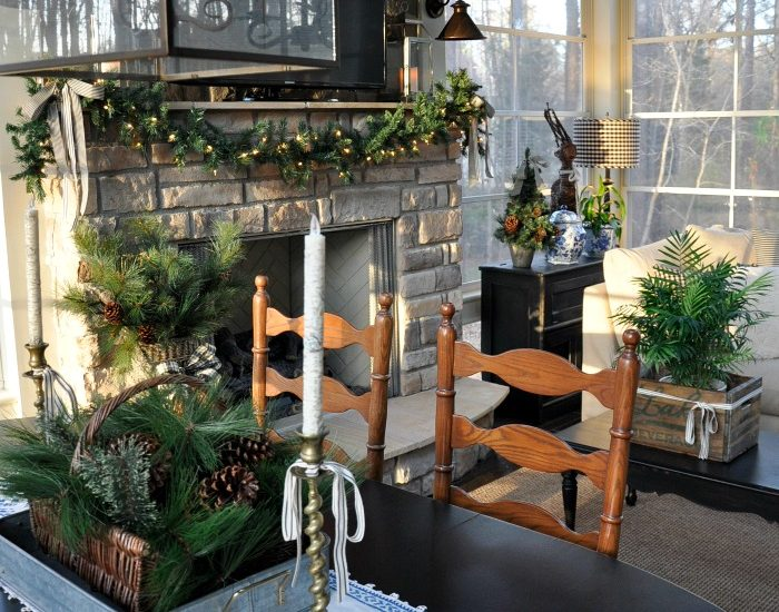 Christmas Home Tour 2016 – Back Porch